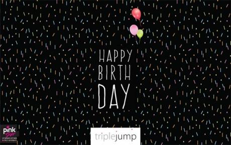 קונפטי על שחור (happy birthday)