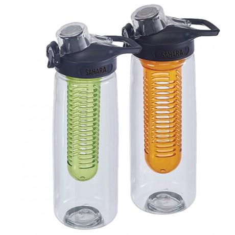 בקבוק מים עם פילטר לפירות