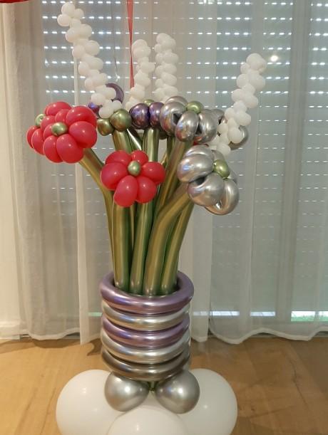 זר פרחים של אהבה