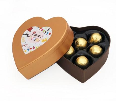 מארז לב שוקולד