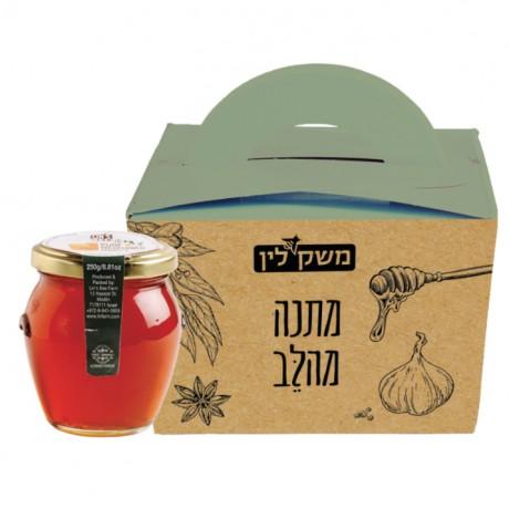 מארז דבש במזוודה דקורטיבית