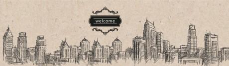 איור בניינים (welcome)