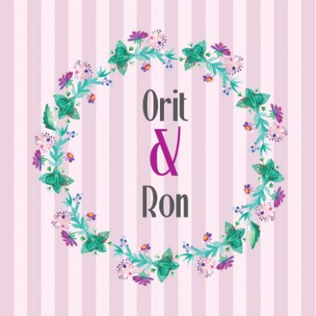 עיצוב לחתונה (Orit & Ron)
