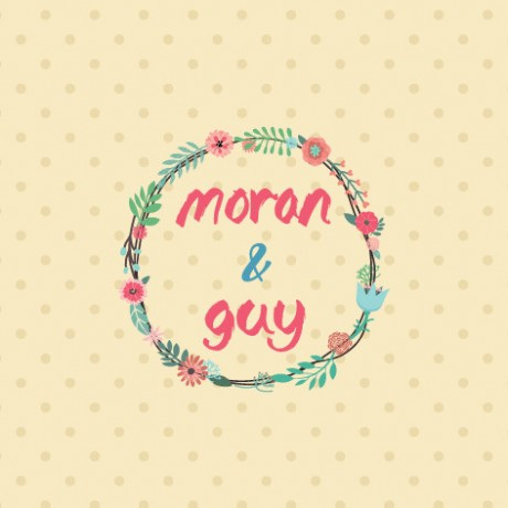 עיצוב לחתונה (moron & guy)