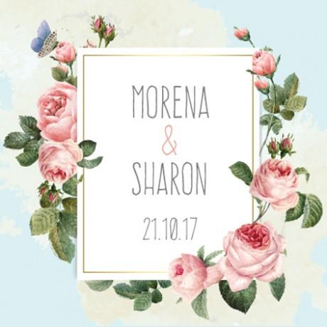 עיצוב לחתונה (MORENA & SHARON)